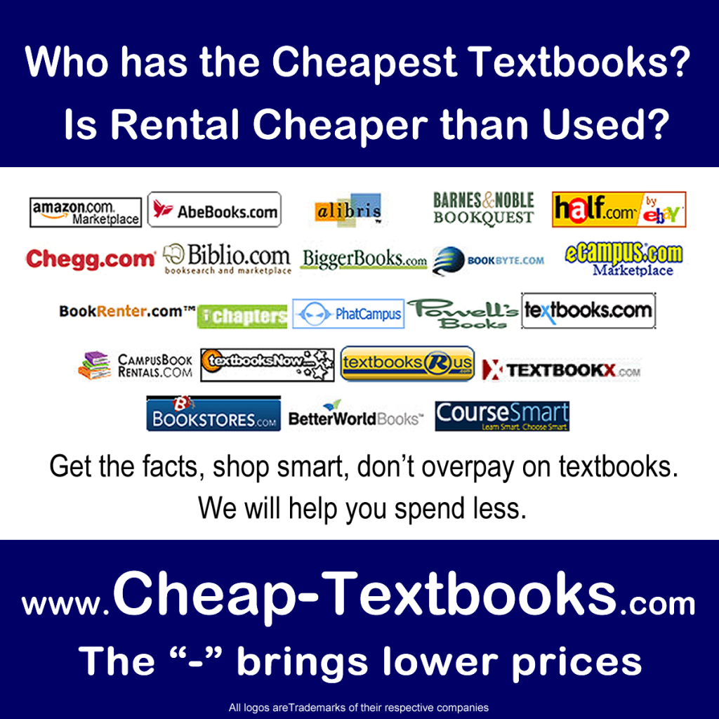 cheap used textbooks found